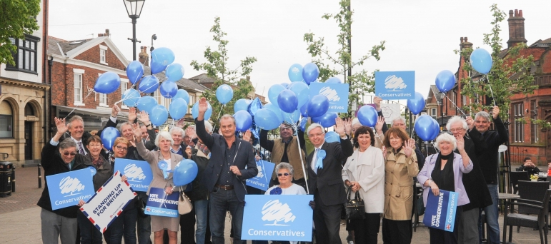 Mark Menzies campaign launch in Lytham